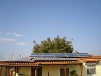 Φωτοβολταϊκός σταθμός ισχύος 5 KW    Τοποθεσία : ΖΕΥΓΟΛΑΤΙΟ