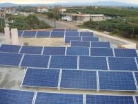 Φωτοβολταϊκός σταθμός ισχύος 10 KW       Τοποθεσία : Ν.ΜΟΥΔΑΝΙΑ ΧΑΛΚΙΔΙΚΗΣ