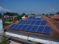Φωτοβολταϊκός σταθμός ισχύος 10 KW      Τοποθεσία : ΑΜΜΟΥΔΙΑ