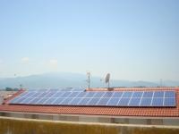 Φωτοβολταϊκός σταθμός ισχύος 10 KW     Τοποθεσία : ΗΡΑΚΛΕΙΑ ΣΕΡΡΩΝ